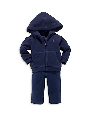 Ralph Lauren Childrenswear Boys Fleece Hoodie  Pants Set  Baby