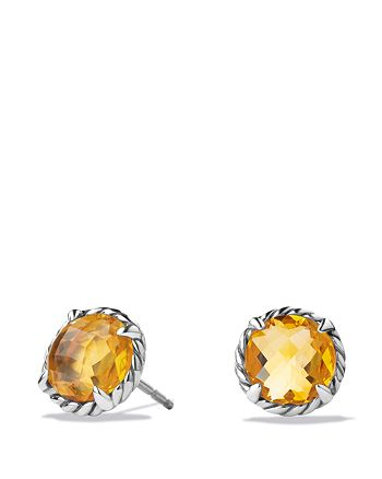 David Yurman - Châtelaine Earrings with Citrine