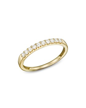 Bloomingdale's - Diamond Band Ring in 14K Yellow Gold, .25 ct. t.w.- 100% Exclusive