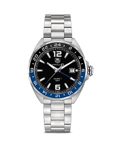 TAG Heuer Formula 1 Watch with Black and Blue Bezel, 41mm - Bloomingdale's_0