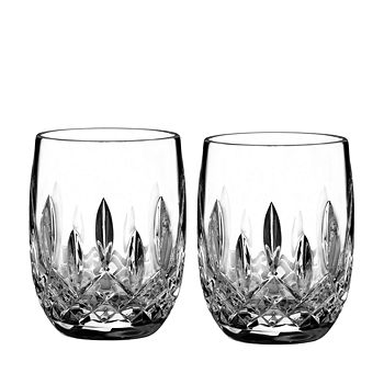 Waterford - Lismore Connoisseur Whiskey Rounded Tumbler Glass, Set of 2