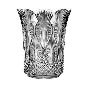 """Waterford - Peacock 12"""" Vase"""