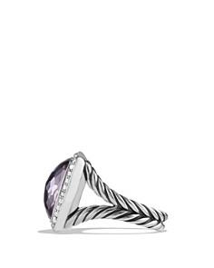 David Yurman - David Yurman Albion Ring with Lavender Amethyst and Diamonds