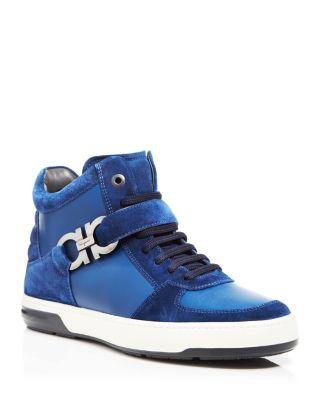ferragamo sneakers high top