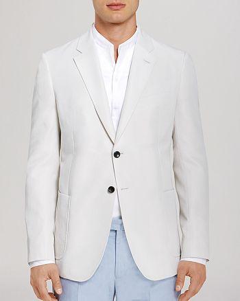 Armani - Linen Blend Blazer - Classic Fit