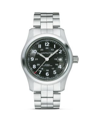 KHAKI FIELD AUTOMATIC BRACELET WATCH, 42MM