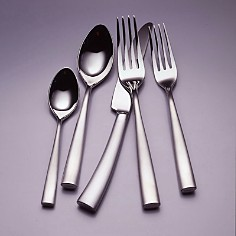 """Couzon """"Silhouette Satin"""" Table Fork - Bloomingdale's_0"""