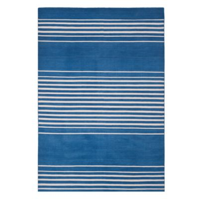 Bluff Point Stripe Collection Area Rug, 8' x 10'