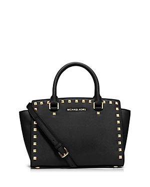 Michael Michael Kors Selma Stud Medium Satchel
