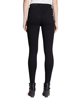 rag & bone - Ankle Leggings - The High Rise in Black