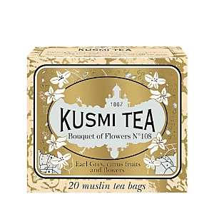 Kusmi Tea Bouquet Of Flowers No.108 Tea Bags