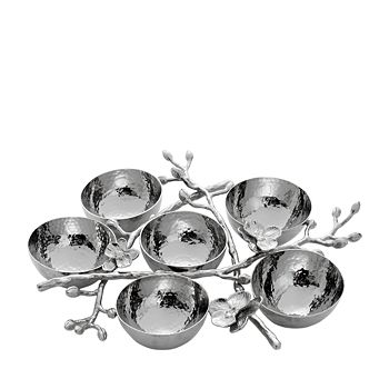 Michael Aram - White Orchid 6-Compartment Plate