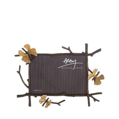 """Butterfly Ginkgo 5 X 7"""" Frame by Michael Aram"""