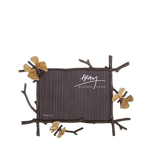 Michael Aram Butterfly Ginkgo 5 x 7\