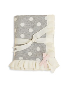Elegant Baby Girls' Polka Dot Blanket - Bloomingdale's_0