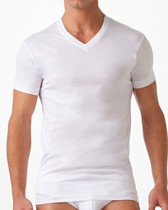 2(X)IST Pima V-Neck Tee - Bloomingdale's_0