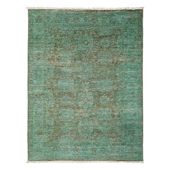 """Solo Rugs - Vibrance Collection Oriental Rug, 4'2"""" x 5'6"""""""