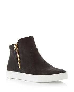 Kenneth Cole - Women's Kiera Side Zip High Top Sneakers