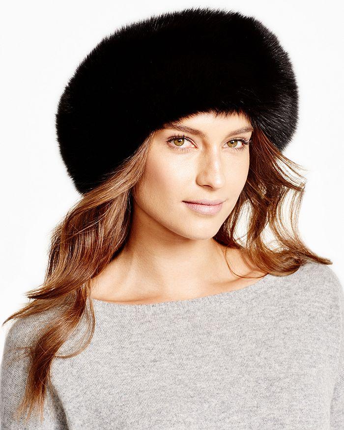 Maximilian Furs - Fox Fur Headband