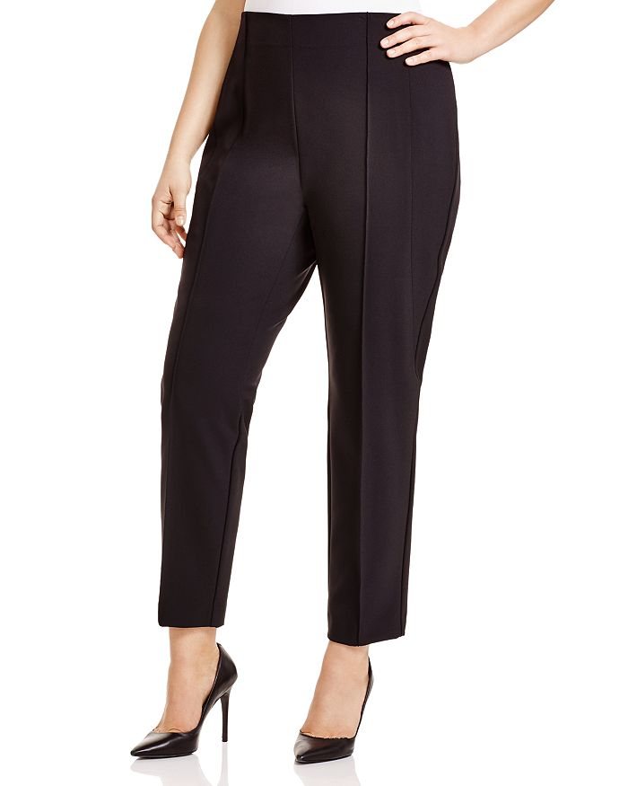 Lafayette 148 New York Plus - Pintuck City Pants