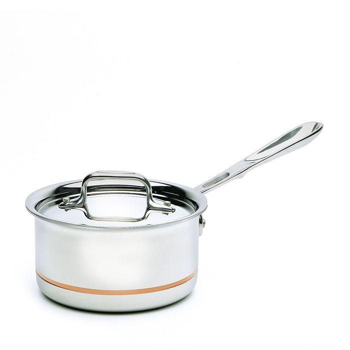 All-Clad - Copper Core 1.5 Quart Saucepan with Lid