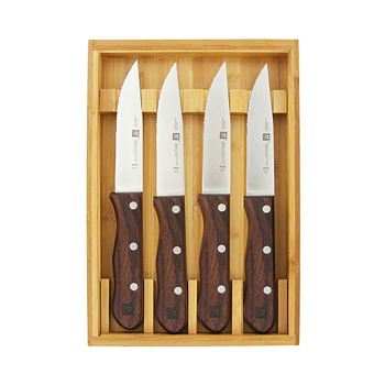 Zwilling J.A. Henckels - 4-Piece Steakhouse Knife Set with Storage Case