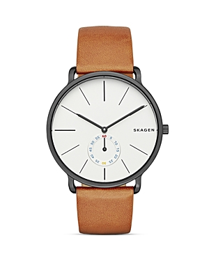 Skagen Hagen Leather Watch, 40mm