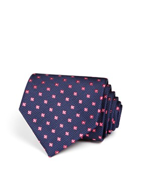 The Men's Store at Bloomingdale's - Small Florette Wide Tie - 100% Exclusive