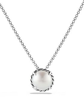 David Yurman - Châtelaine® Pendant Necklace with Pearl