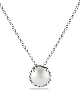 David Yurman - Châtelaine Pendant Necklace with Pearl