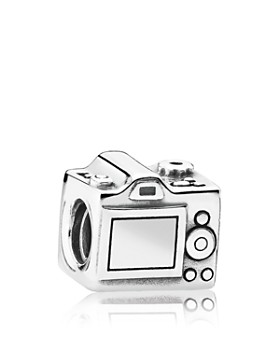 PANDORA - Charm - Sterling Silver & Cubic Zirconia Sentimental Snapshots, Moments Collection