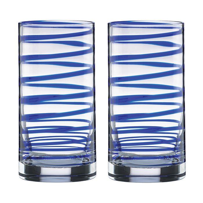 kate spade new york - Charlotte Street Highball Glass, Set of 2