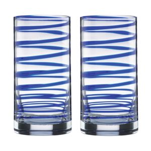 kate spade new york Charlotte Street Highball Glass, Set of 2