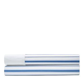 Ralph Lauren - Job's Lane Stripe Flat Sheet, Queen
