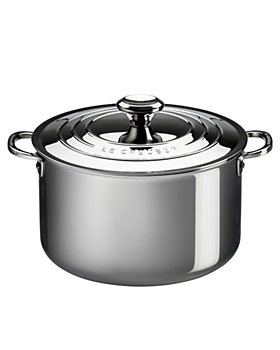 Le Creuset - Stainless Steel 7-Quart Stock Pot with Lid
