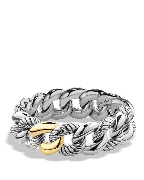 David Yurman - Belmont Bracelet with 18K Gold