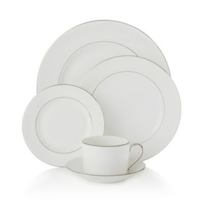 "Wedgwood ""Blanc Sur Blanc"" Salad Plate"