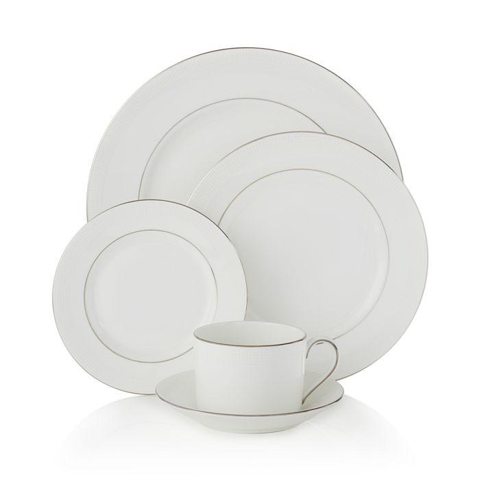 "Wedgwood - for Wedgwood ""Blanc Sur Blanc"" Bread & Butter"