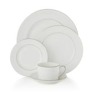 Vera Wang Wedgwood Blanc Sur Blanc Salad Plate