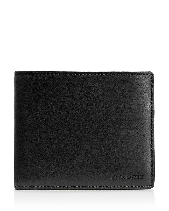 ea931e8b21a53 COACH - Double Billfold Wallet with Removable ID