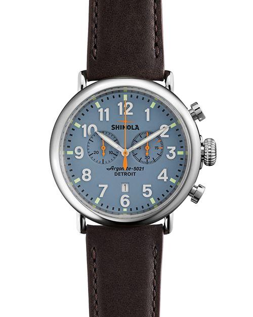 Shinola - Runwell Chronograph Watch, 47mm