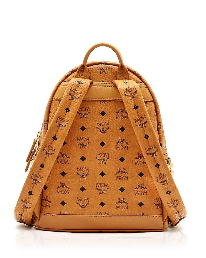 24a0793fa MCM Stark Side Stud Small Backpack | Bloomingdale's