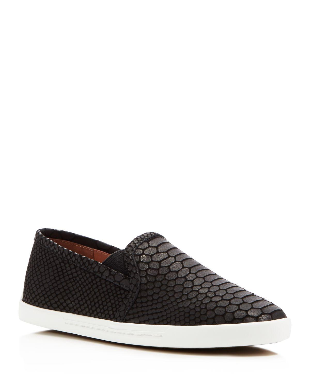 Joie Embossed Slip-On Sneakers