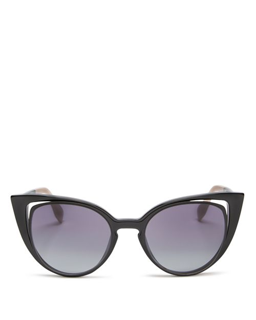 Fendi - Women's Floating Cat Eye Sunglasses, 51mm