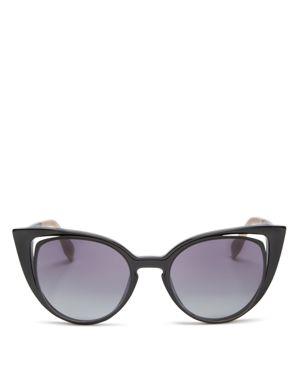 Fendi Floating Cat Eye Sunglasses, 51mm