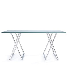 Mitchell Gold Bob Williams - Xavier Stainless Steel Desk
