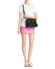 COACH - Swagger 27 Small Satchel in Pebble Leather