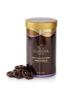 Godiva® - Dark Chocolate Covered Pretzel Tin