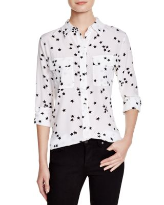 $Equipment Slim Signature Silk Shirt - Bloomingdale's