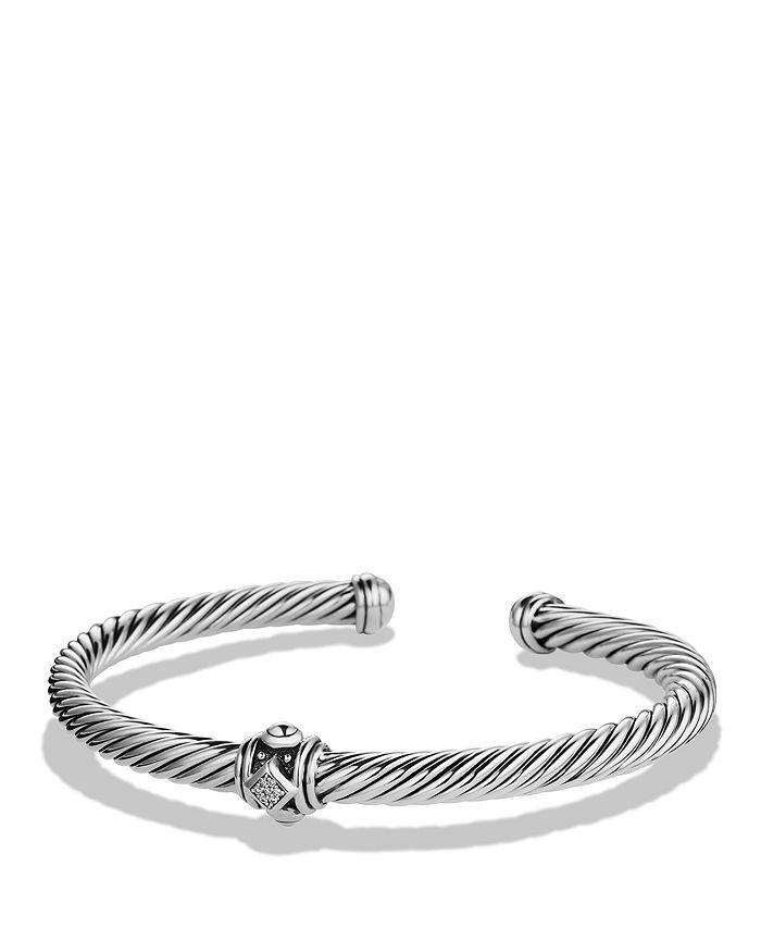 David Yurman - Renaissance Station Bracelet with Diamonds